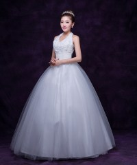 2015 Fashion Voile Ball Gown Wedding Dress Sexy Elegant