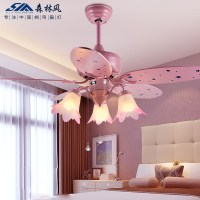 Pink Ceiling Fan With Light | WANTED Imagery