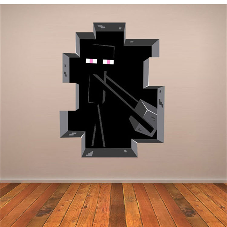 wall stickers home decor minecraft wallpaper party decorations decal wall decoration sticker wall decals wall stickers buy wall stickers