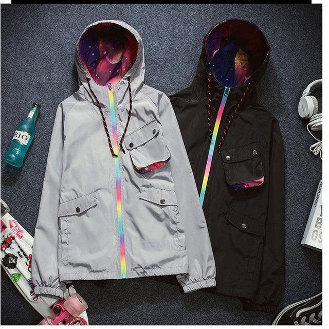 2016 Весна Куртка Пальто Женщин С Капюшоном Плюс Размер Женщин Одежда Chaquetas Mujer Длинным Рукавом Негабаритных Куртки Пальто Женщин Пиджаки