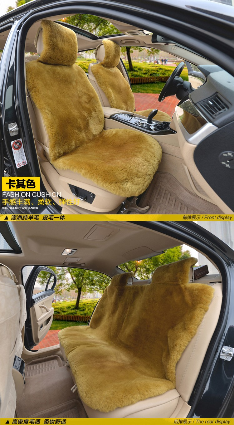 Car Seat Cushions Australia Muniuren Luxury Australia Wool Car Seat Cushion Winter High Quality Whole Piece Of 100 Genuine Wool Fur Sheepskin Seat Cushion