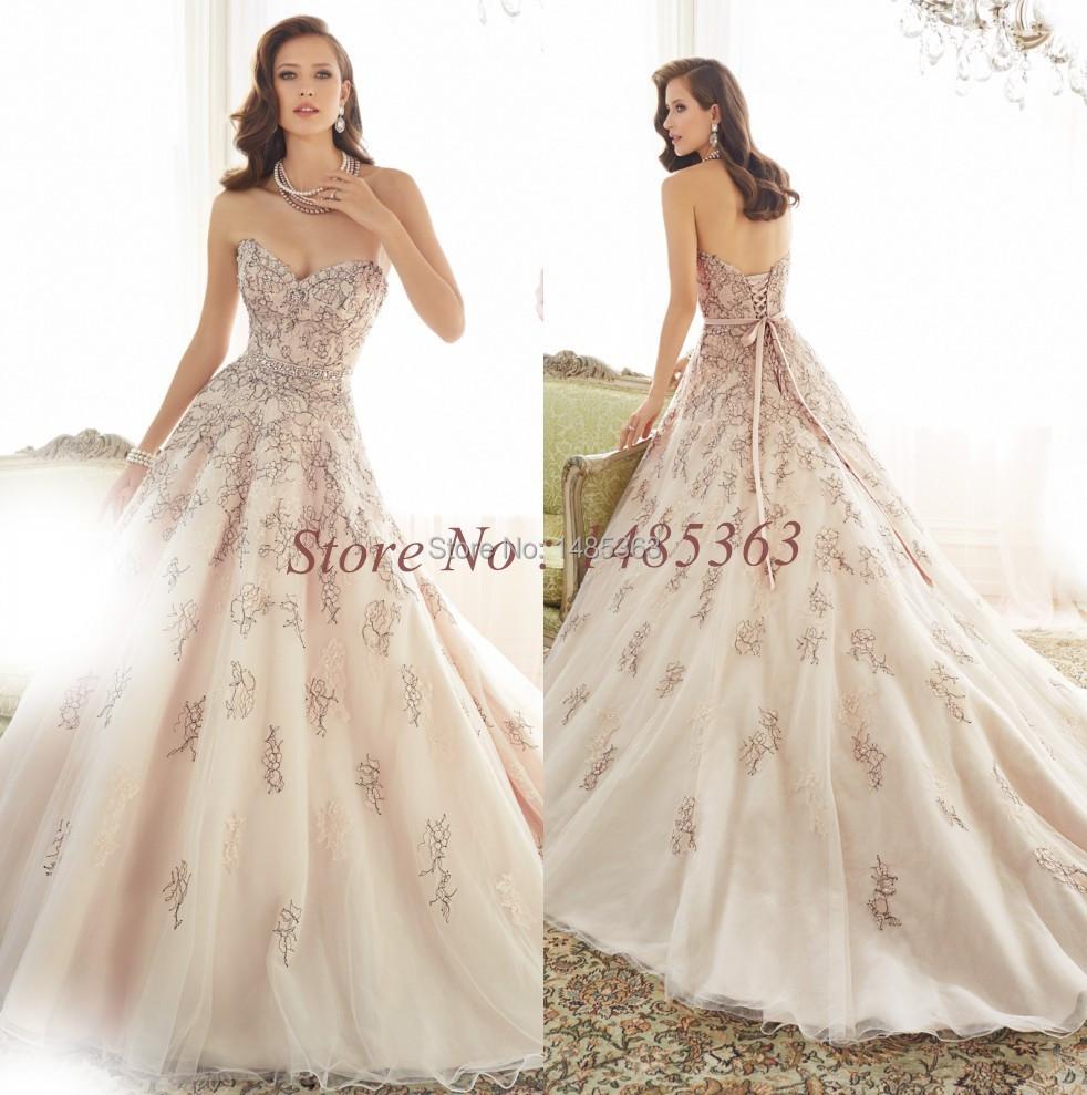 list detail champagne pink wedding dress champagne colored wedding dress Champagne blush pink wedding dress Gowns astounding Dresses