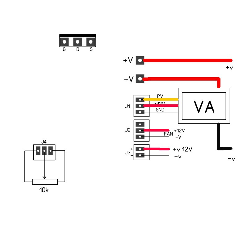 led dc to dc constant current driver circuit electronic circuit