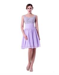 Lavender Burgundy Short Bridesmaid Dresses 2016 Beaded ...