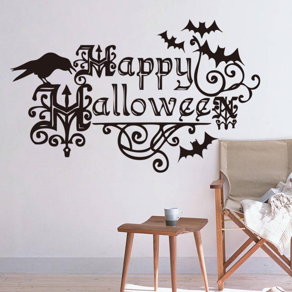 happy halloween festival children bedroom wall stickers cartoon newknowledgebase blogs bedroom wall decals kids