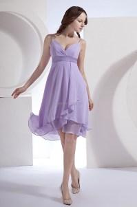 Vestido De Festa Short Lavender Bridesmaid Dresses 2015 ...