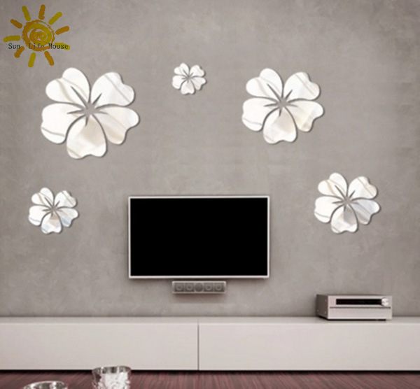decoration mirror wall stickers mirror wall stickers home decor wall mirror stickers tonka design digsdigs