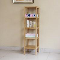 Clapboard wood shelving storage rack shelf bathroom shelf ...