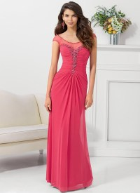 Red Long Evening Dresses Sale - Holiday Dresses