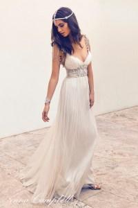 Vintage Wedding Dress 2016 Sexy Backless V Neck Boho Bride ...