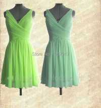 Lime Green Bridesmaids Dresses Promotion
