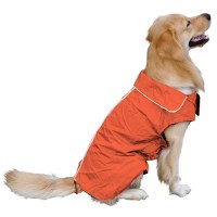 Dog Raincoat Clothing For Dogs Rain Poncho Pet Clothes ...