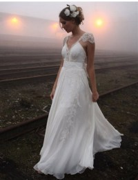 Romantic Bohemian Wedding Dresses - Gown And Dress Gallery