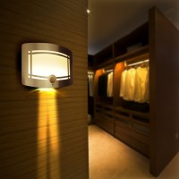 2015 Wireless Infrared Motion Sensor Wall LED Night Light ...