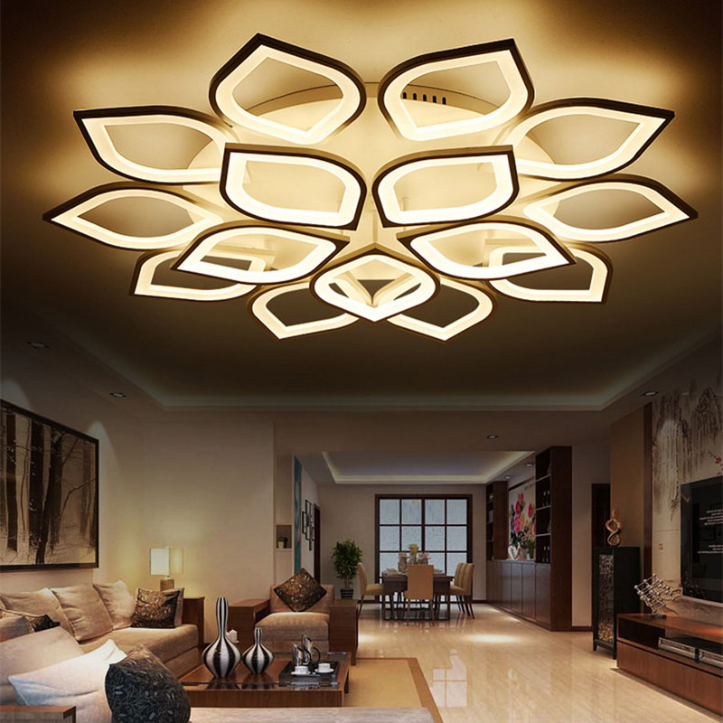 Led Deckenlampen Wohnzimmer Hot ! Free Shipping Modern led Ceiling Light Dimmable With ...