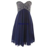 Navy Blue Prom Dresses Short - Discount Evening Dresses