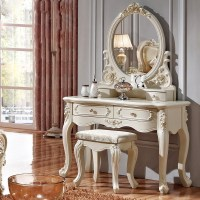 Luxury French style Pricess dresser makeup dressing table ...