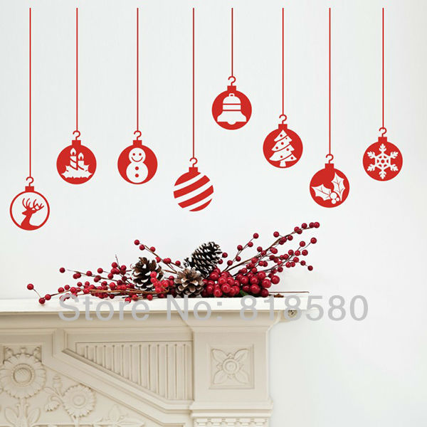 home decor christmas window charm vinyl wall art stickers wall vine tree large wall decals stickers appliques home decor