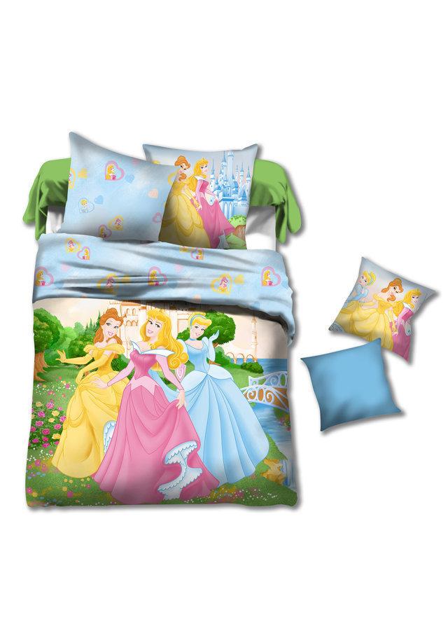 Princess Kids Girls Cartoon Bedding Comforter Set Sets
