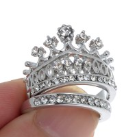 Wedding rings for beautiful women: Crown wedding rings