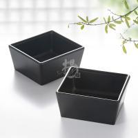 Korean imitation porcelain melamine black square mat small ...