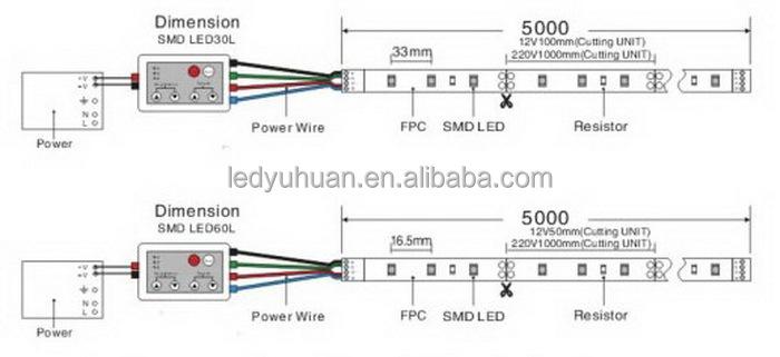 120v led strips rgb wiring diagram rgb led strip controller circuit