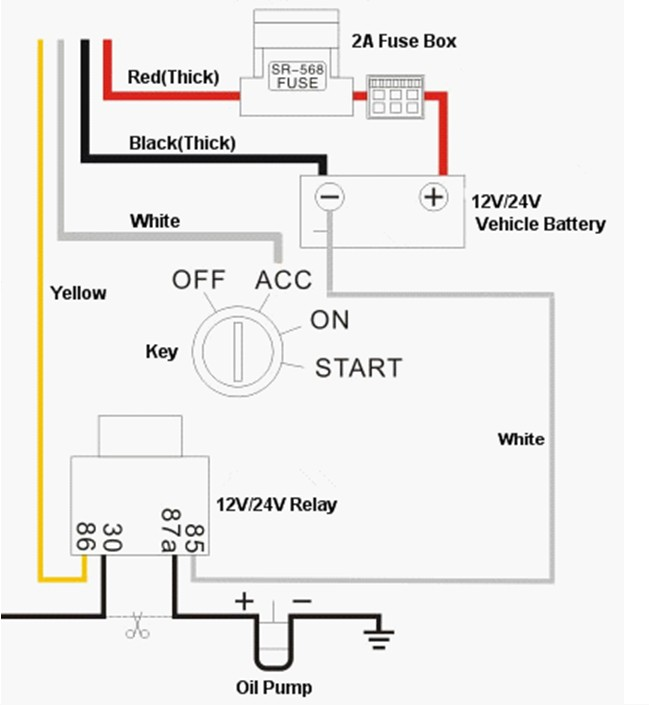 relay wiring diagram 5 pole