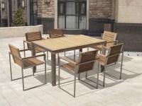 Wf-t3011-150 Teak Stainless Steel Outdoor Furniture - Buy ...