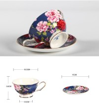 Antique Fancy Royal Coffee Cup With Saucers Royal Roses ...