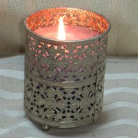 Wholesale Glass metal votive tealight candle holders ...