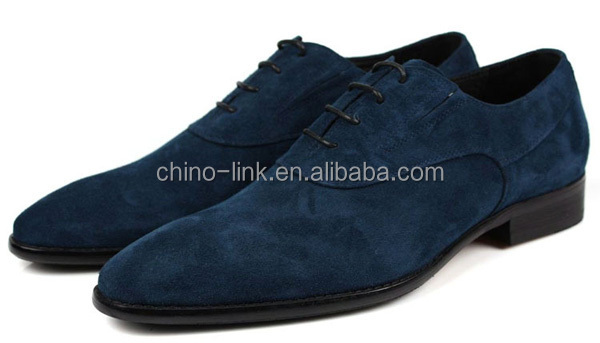 Italian Style Mens Blue Suede Shoes Brand Name 2015 Buy