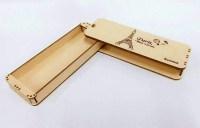 Low Moq Low Price Wholesale Diy Wooden Sliding Pencil Box ...