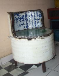 Recycled Oil Drum/barrel Chair - Buy Recycled Oil Drum ...
