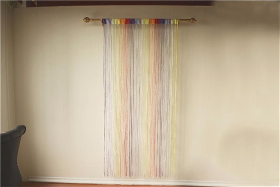 Shiny luxury cheap price room ider string curtains buy shiny