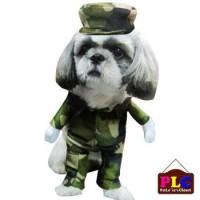 Security Police Camouflage Military Pet Dog Clothes ...