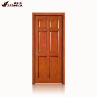 Interior wooden primed hollow core molded wood door design ...
