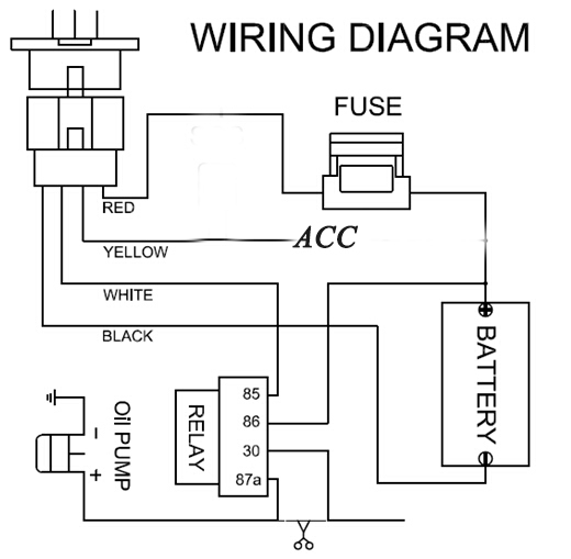wiring diagram for gps tracker
