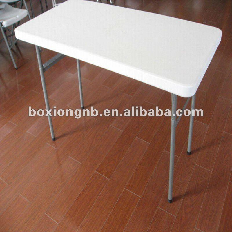 Small Plastic Folding Table(plastic Blow Molding Folding