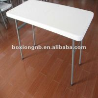 Small Plastic Folding Table(plastic Blow Molding Folding
