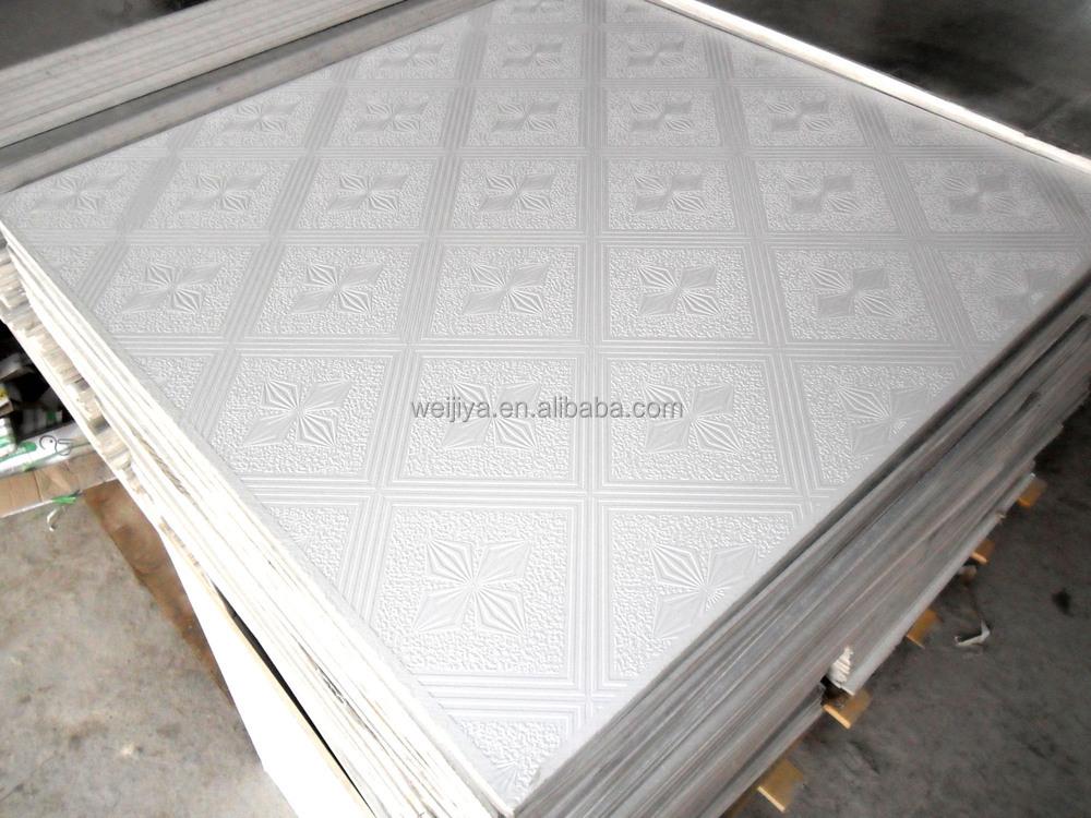 Pvc Gypsum Ceiling Board Soundproofing Fiberboard Ceiling