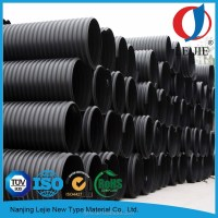 "Hdpe 10 Inch 2"" Corrugated Drainage Pipe"