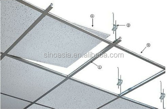 Badezimmer Spiegel Kabel Ceiling T-bar/ Ceiling T-grid With Galvanized Main Tee