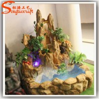 Resin Indoor Fountains And Waterfalls Waterscape ...