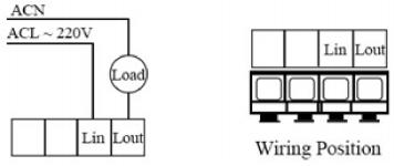 220v wall switch wire diagram