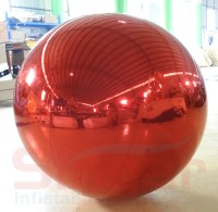 Giant Inflatable Silver Mirror Ball,Gold Large Mirror ...