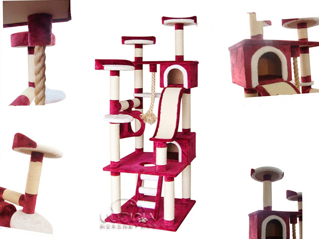 Cat Tree Houses Indoor Grand Arbre Chat Pas Cher