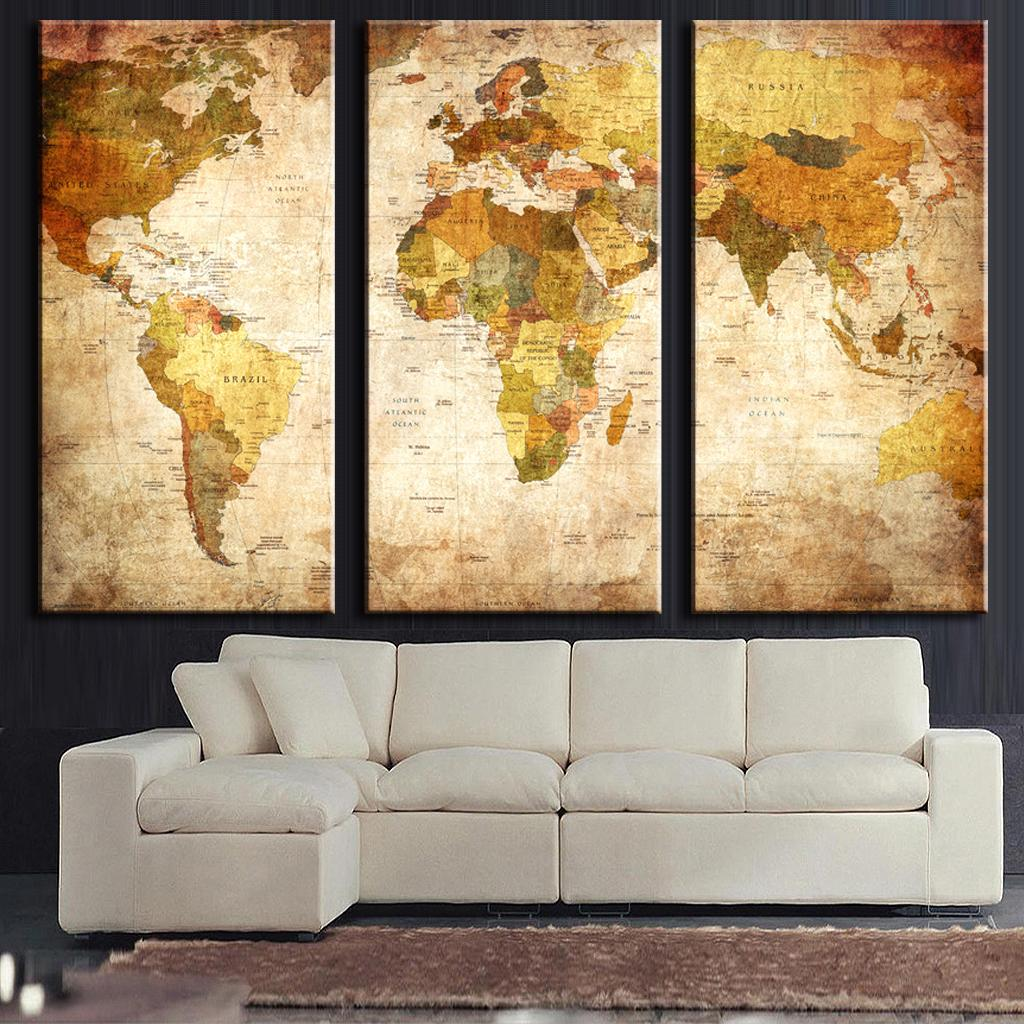 Painting Over Canvas Wall Art - Elitflat