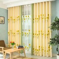 Popular Sunflower Kitchen Curtains