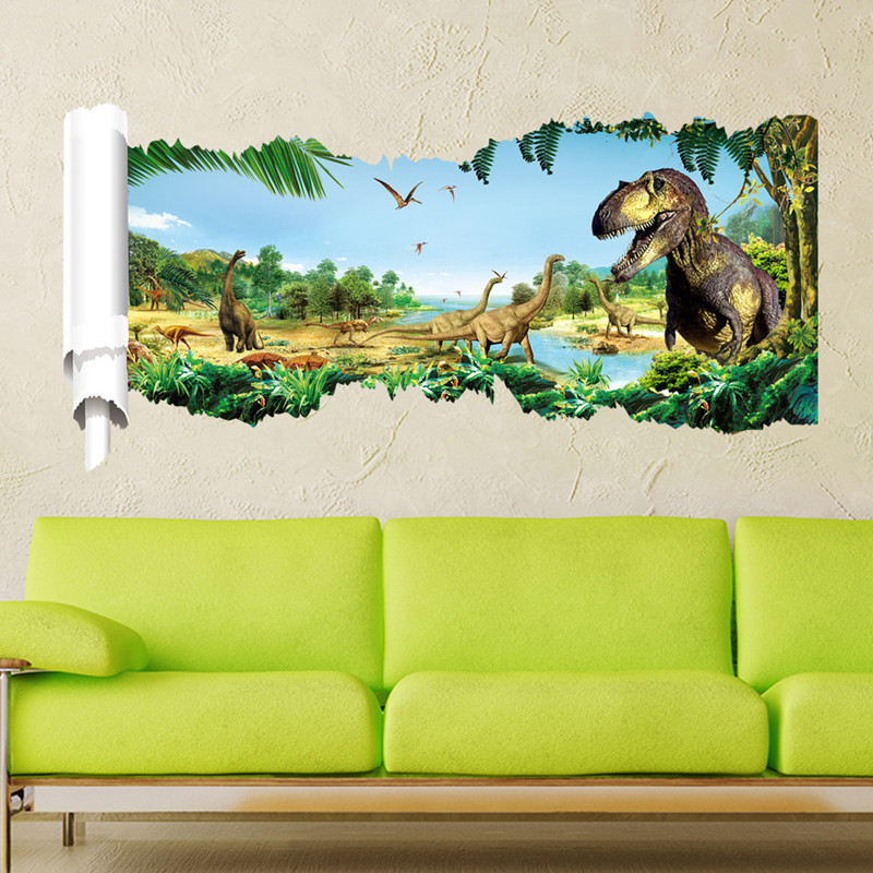 room children bedroom wall stickers dinosaurs art visual wall sticker newknowledgebase blogs bedroom wall decals kids