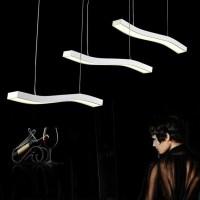 Buy Odemlighting Egg Shaped Dining Table LED Pendant Light ...